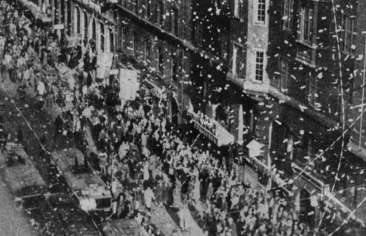 kungsgatan 8 maj 1945