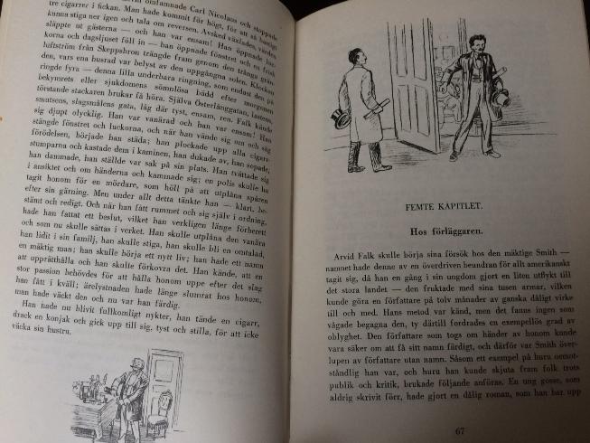 Bild ur den där illustrerade utgåvan av Röda rummet - bara för att jag inte kunde låta bli.