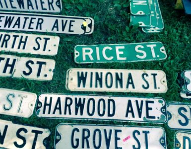 Old Street Signs