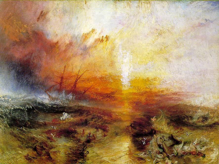 JMW Turner - Slave ship